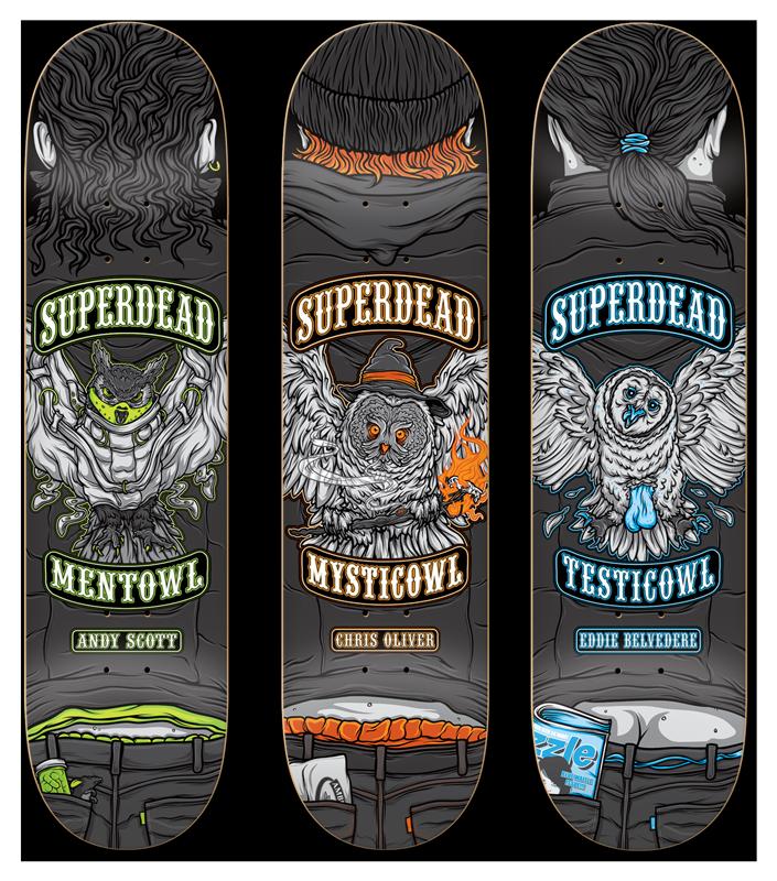 Professionowls Skateboards